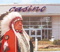 indian gaming revenue drops
